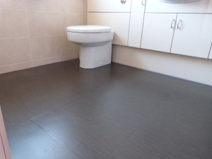 En-suite fitted in project floors tiles